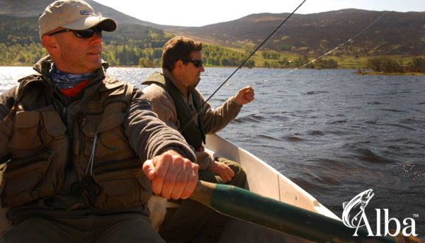 fishing guide, trout fishing, Orvis, Alba Game Fishing, Perthshire, brown trout