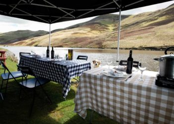 Corporate Fishing groups in Scotland, fishing lunch, corporate event, inspiring events, outdoor food experience, team building, away days, corporate entertainment, experiential learning, team building