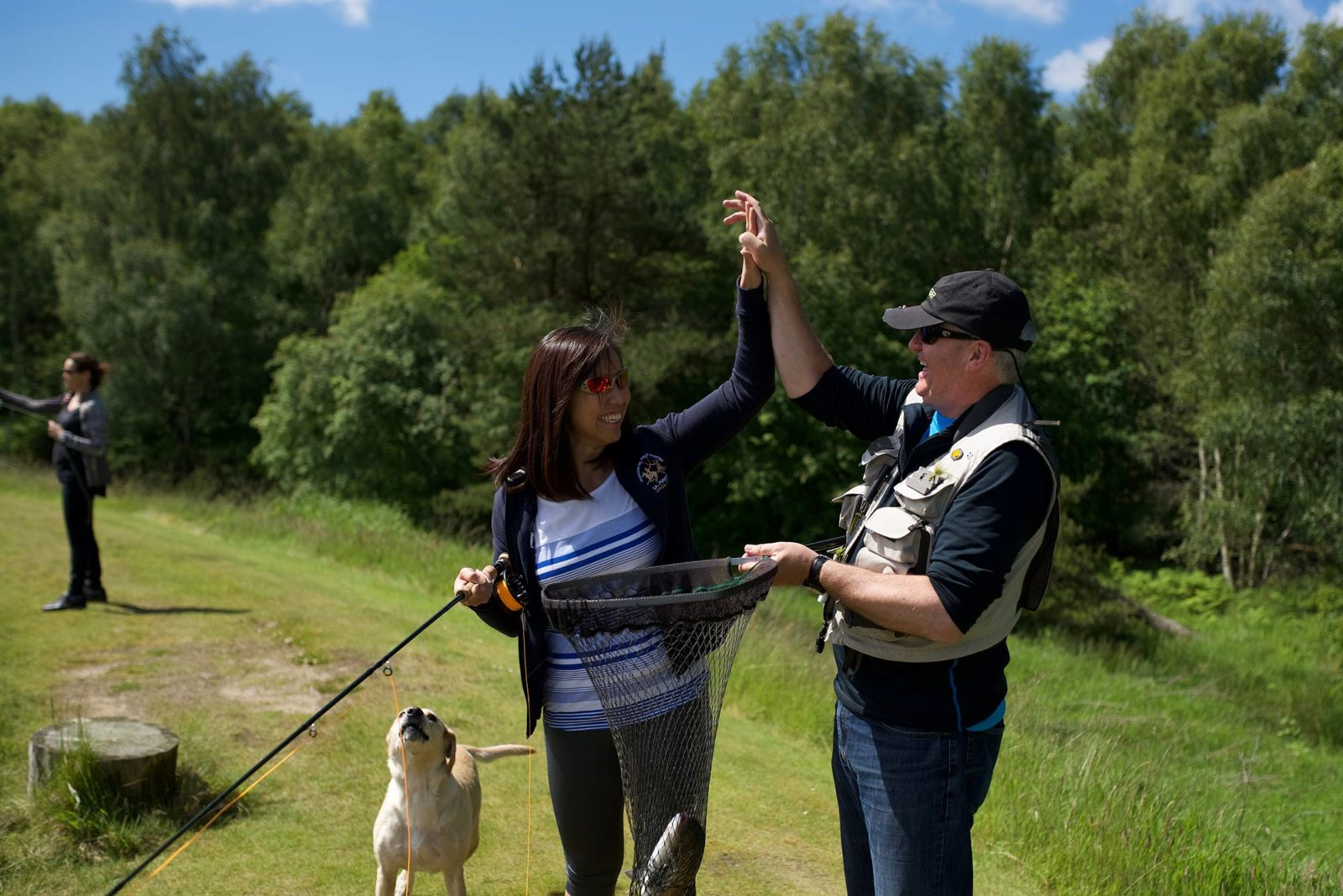 Learn to fly fish in scotland fly fishing for beginners for Fly fishing supplies near me