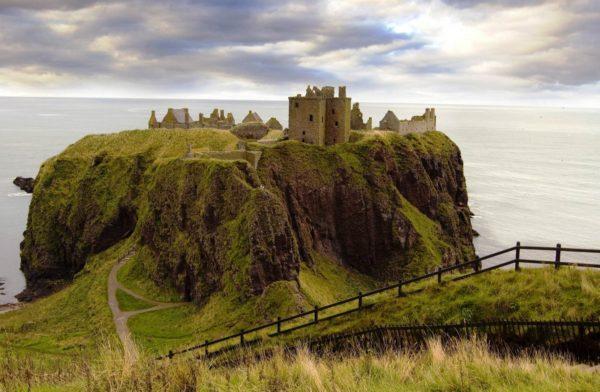 Dunnottar, Hamlet, Aberdeenshire,