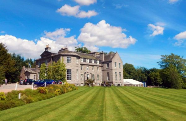 best fishing hotel near River Dee, best hotels Aberdeenshire, Country house hotel near Aberdeen,