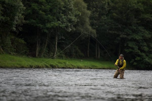 Guided Salmon, Salmon fishing in Scotland, Best salmon fishing Scotland, Salmon Fishing River Spey, Fly Fishing Scotland, Orvis, River Tay, River Tweed, River Dee, Spey casting Instruction