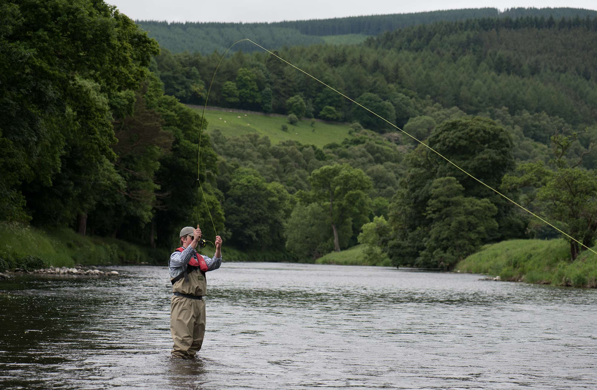 Trout fishing river tweed orvis endorsed guides for River trout fishing