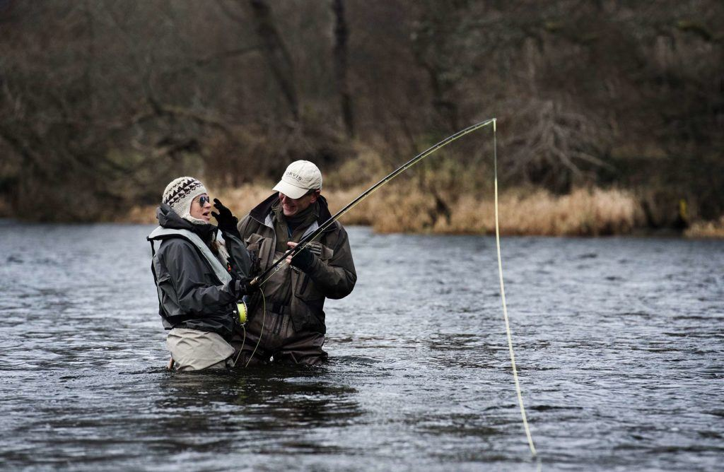 river tweed, salmon fishing, fishing guide Edinburgh, best salmon fishing Scotland