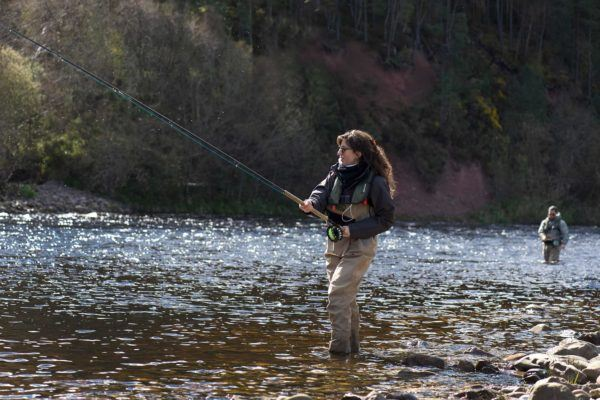 Guided Salmon, Salmon fishing in Scotland, Best salmon fishing Scotland, Salmon Fishing River Spey, Fly Fishing Scotland, Orvis, Spey casting Instruction