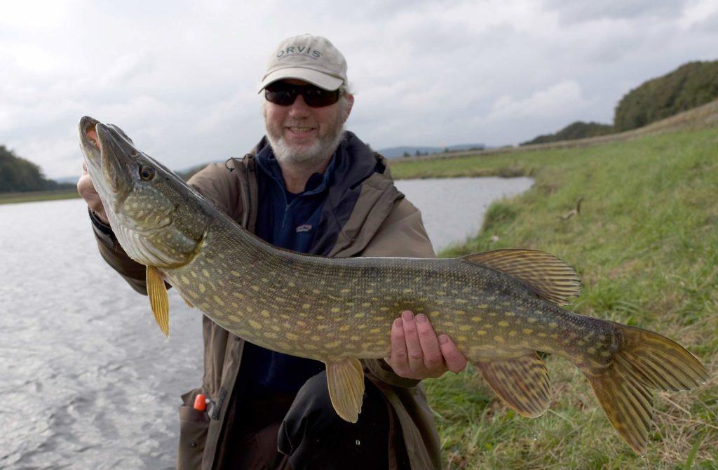 pike fishing, edinburgh, Alba Game Fishing guides, Steve, best fishing near Edinburgh