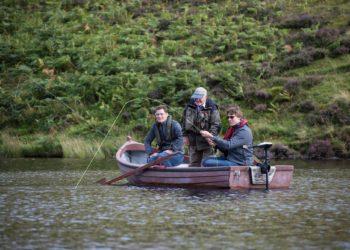 trout fishing Edinburgh, Fishing guide, near Edinburgh, loch fishing