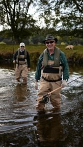 River Tweed, USA guests, Orvis fishing, fishing trips scotland