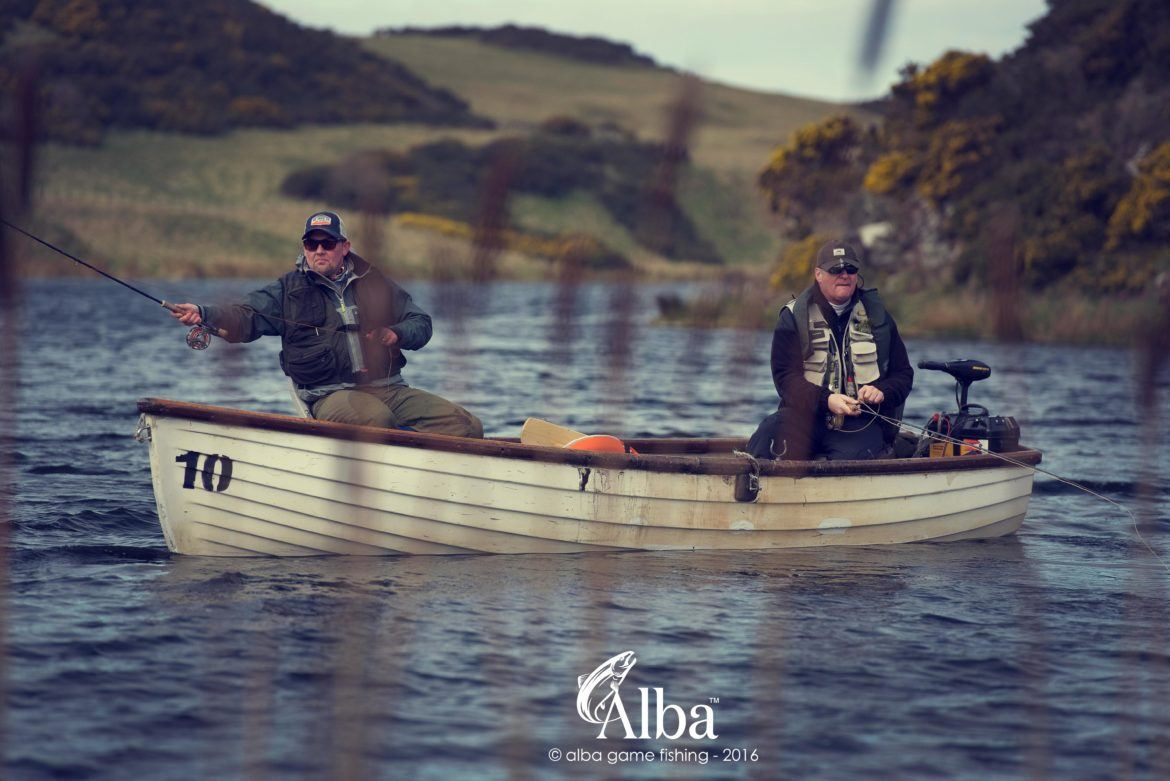 Trout fishing near Edinburgh, fly fishing trips, Scotland