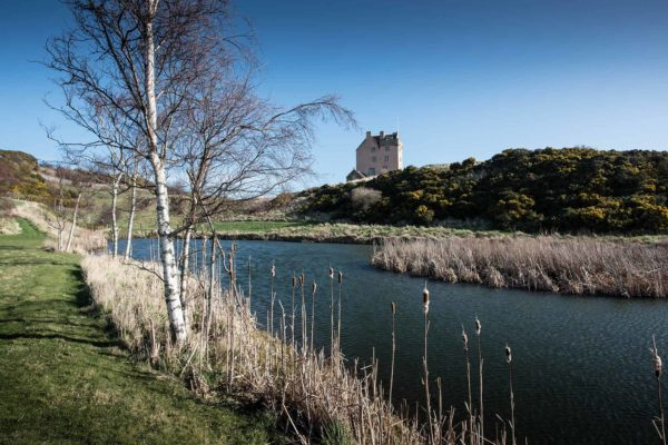 Fenton tower, castle for hire near edinburgh, accommodation golf coast, salmon, trout fishing hotel, River Tweed, Muirfield, Gullane and North Berwick, golf accommodation