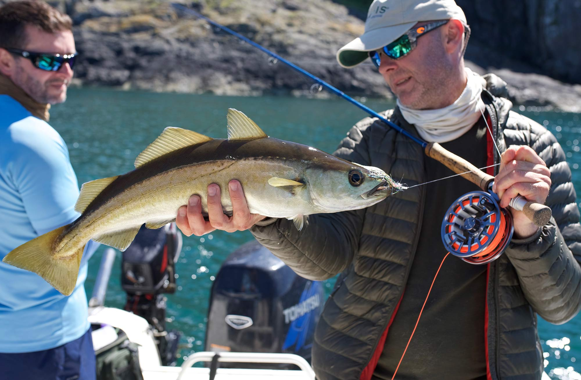 Fly fishing in the sea for pollock shore spots in scotland for Fly fishing vacation packages