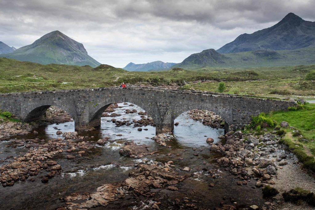 Skye, Sligachan bridge, Cuillins, Alba Game Fishing, Hidden Gems Tour, Scotland