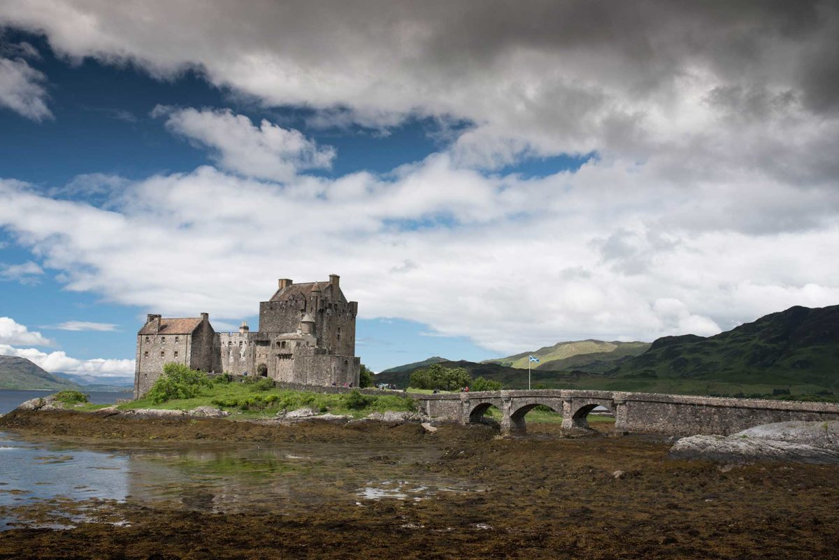 Best fishing holiday and touring vacation in scotland eilean donan castle hidden gems scotland alba game fishing skye sciox Images