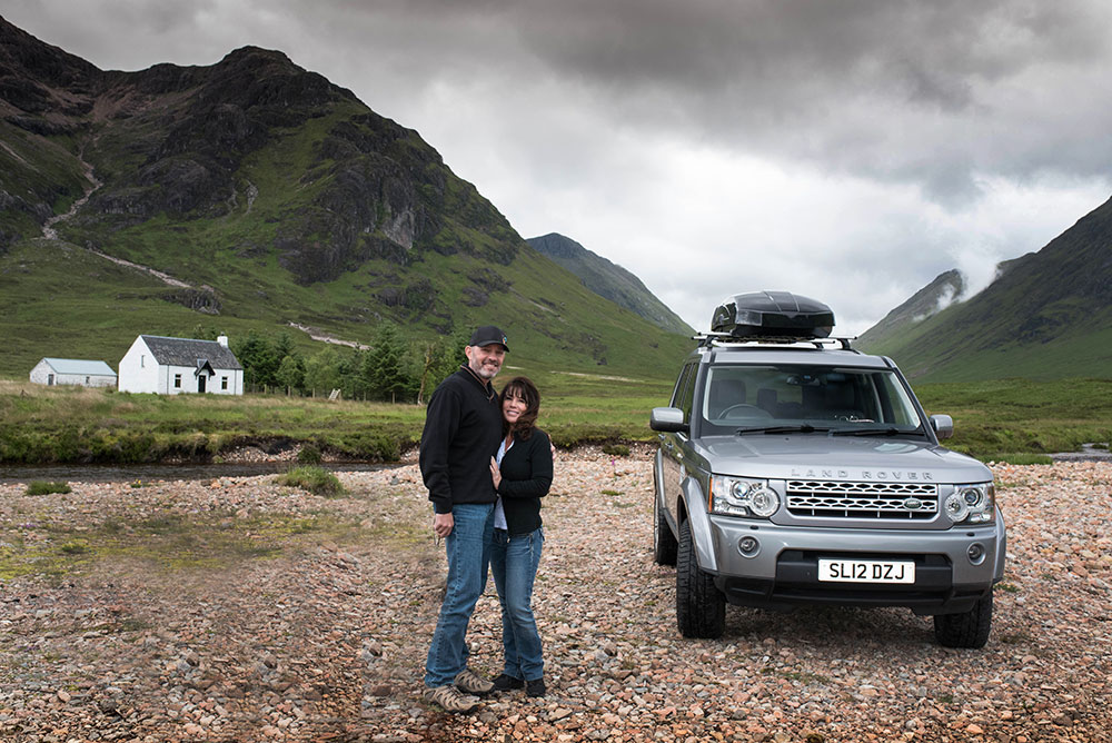 Glencoe, Hidden Gems, Scotland, Alba Game Fishing, Land Rover Discovery