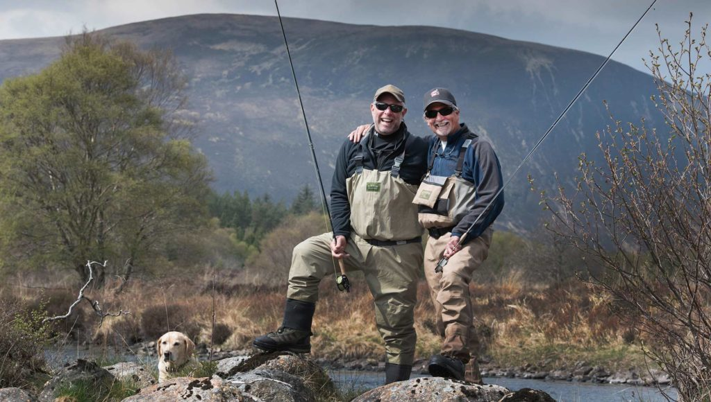 fly fishing, scotland, orvis UK, alba game fishing, river Alness, dry fly, trout fishing