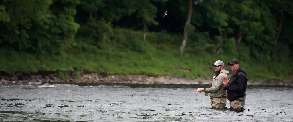fishing, salmon, river tay, guide, orvis uk,