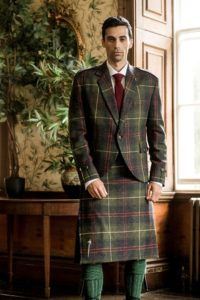 bespoke, tailoring, tweed, tartan, clans, plaid, Edinburgh, shop