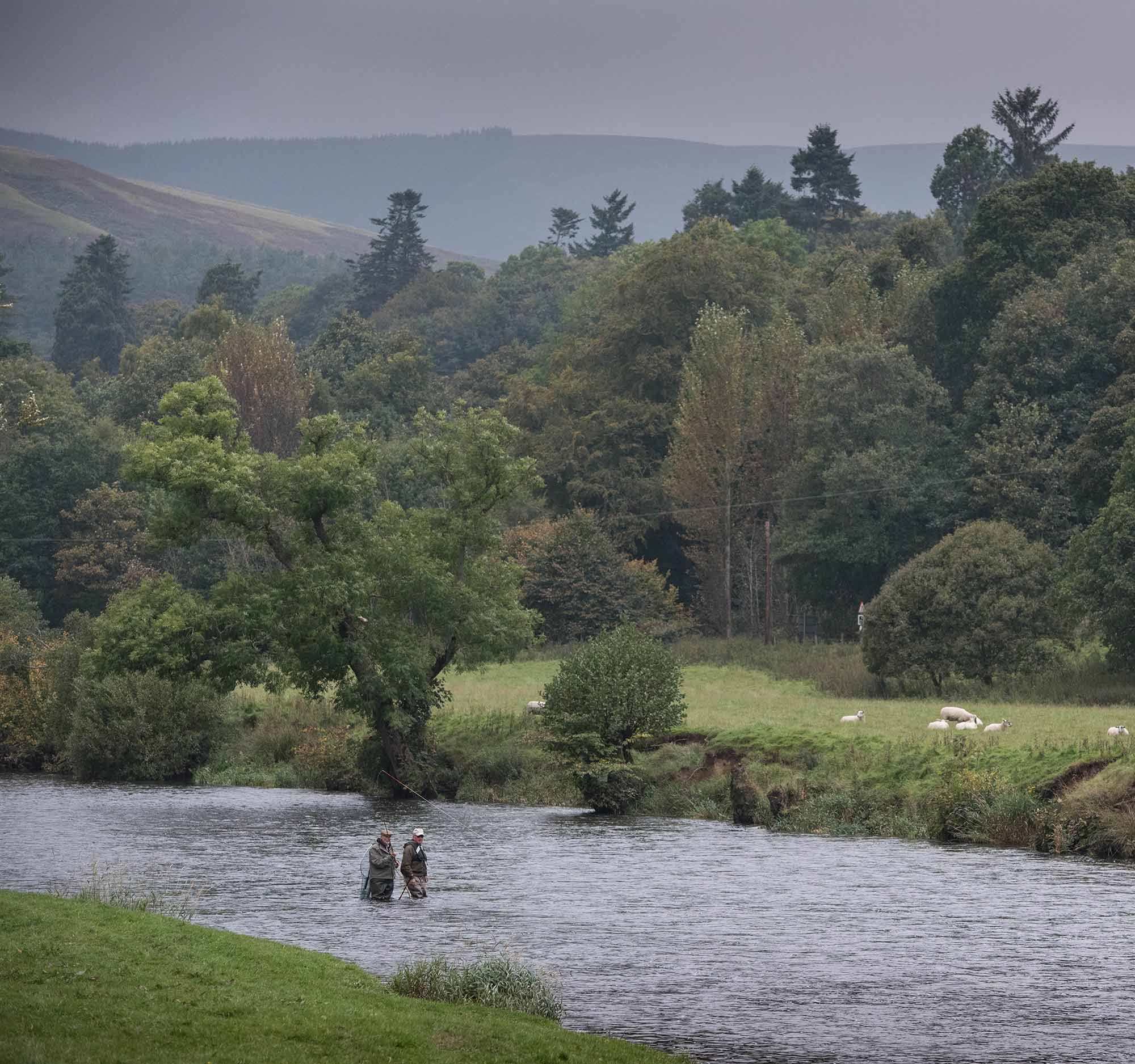 River tweed, salmon fishing. Scotland, fishing guide, Spey Casting, Fly Fishing, Orvis UK, Atlantic Salmon