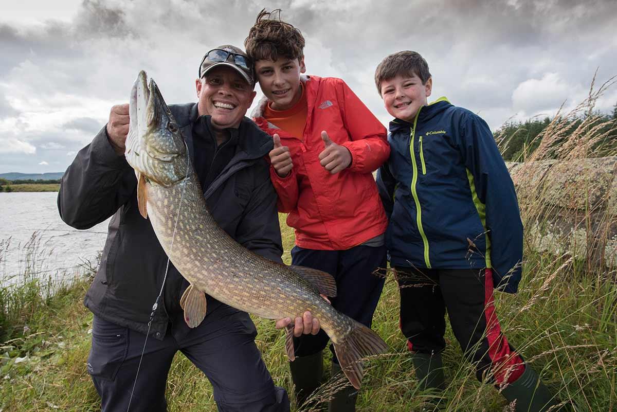 Pike fishing, fishing trips, best pike fishing, pike lochs, fishing guide, near Edinburgh, Edinburgh fisheries, Scotland, Alba Game Fishing