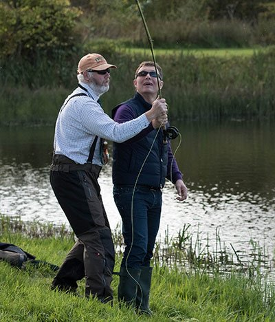 trout fishing, pike fishing, edinburgh, Alba Game Fishing guides, Steve, best fishing near Edinburgh