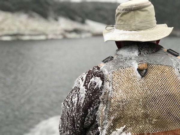 winter fishing, trout fishing, fishing guide, fishing near Edinburgh