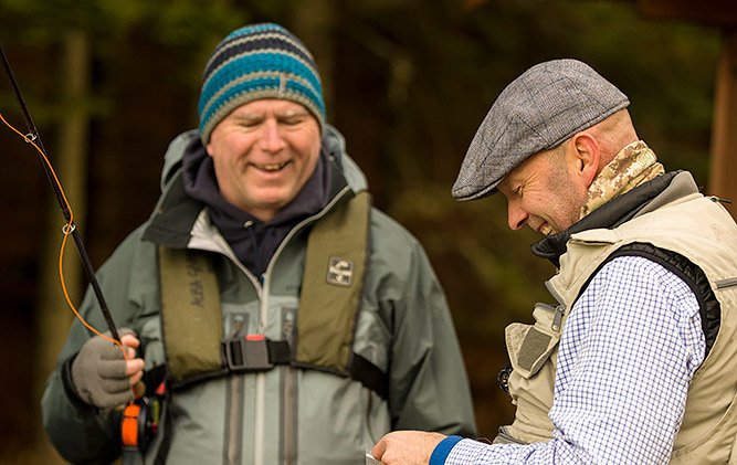 fly fishing lessons, fly fishing for beginners, fishing courses, learn to fly fish, Edinburgh, Glasgow, Aberdeen, trout, grayling, salmon, Orvis UK, Alba Game Fishing, Guide, casting instruction