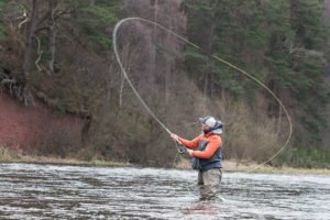 D Loop. Spey Casting, Single Spey, River Spey, Salmon fishing, fly fishing, Speyside, Muckrach, Alba Game Fishing, Stewart Collingswood