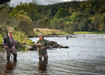 River Spey, salmon fishing, Scotland, fly fishing, Spey Casting instruction, Ballindalloch,