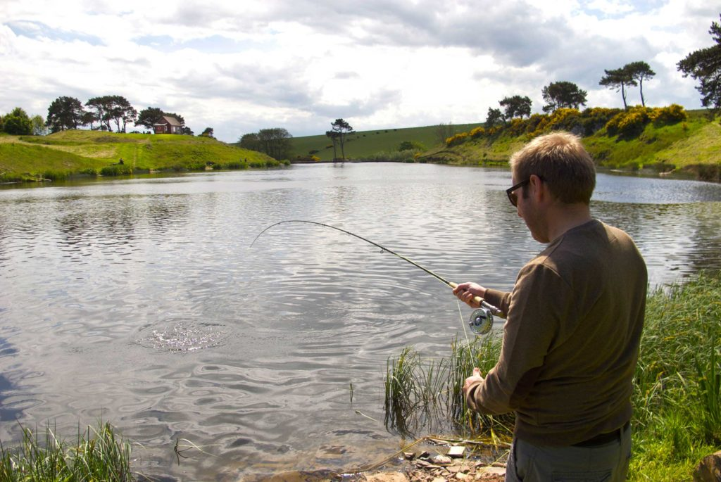 Trout fishing, fly fishing, beginners, learn to fly fish, Edinburgh, Scotland, Rainbow Trout,